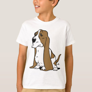 Basset hound cartoon T-Shirt