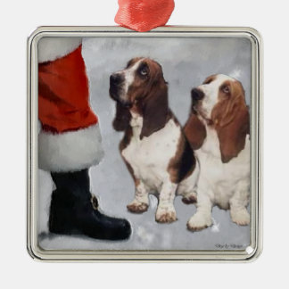 Basset Hound Christmas Gifts Ornament