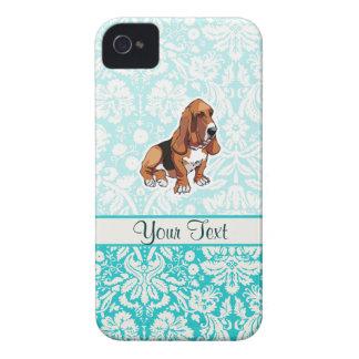 Basset Hound; Cute iPhone 4 Case-Mate Case