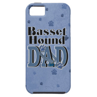 Basset Hound DAD iPhone 5 Covers