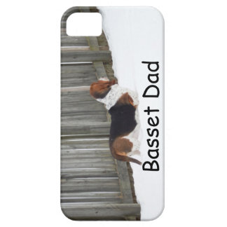 Basset Hound Dad iphone case. Case For The iPhone 5