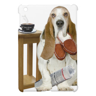Basset Hound Daddy's Helper Cover For The iPad Mini
