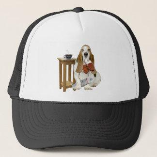 Basset Hound Daddy's Helper Trucker Hat