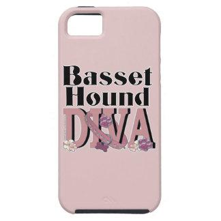 Basset Hound DIVA iPhone 5 Cover