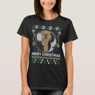 Basset Hound Dog Breed Ugly Christmas Sweater