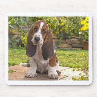 Basset Hound Dog Mouse Pad