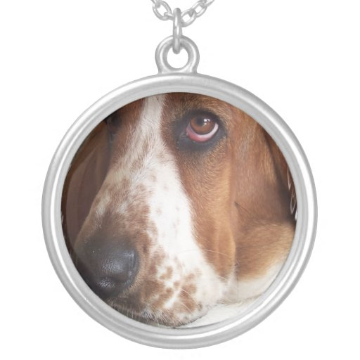 Basset Hound Dog Necklace