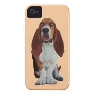 Basset Hound dog photo iphone 4 case mate
