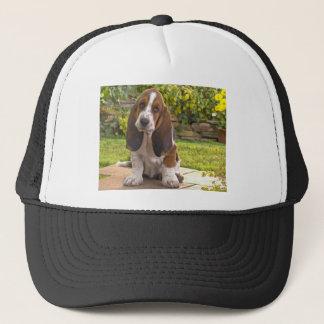 Basset Hound Dog Trucker Hat