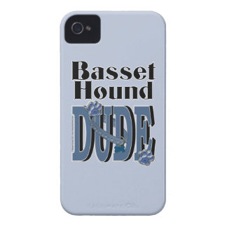 Basset Hound DUDE iPhone 4 Covers