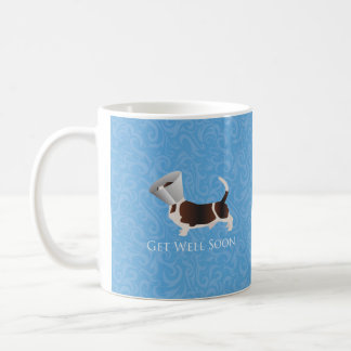 Basset Hound Get Well Soon Design Coffee Mug