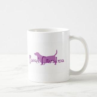 Basset Hound Grandma Coffee Mug