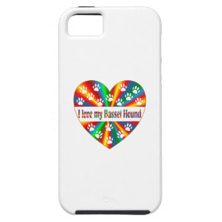 Basset Hound Love iPhone 5 Cover