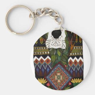 Basset Hound love Key Ring