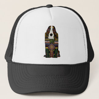 Basset Hound love Trucker Hat
