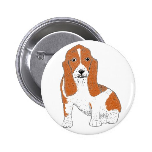 Basset Hound multiple Products Pins