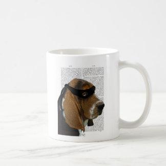 Basset Hound Ninja Coffee Mug