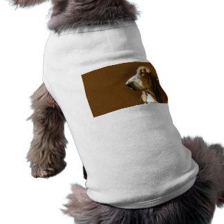 Basset Hound Photo Pet Shirt