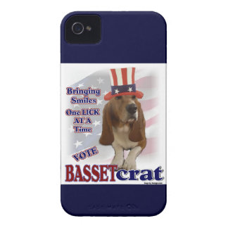 Basset Hound Political Humor iPhone 4 Covers