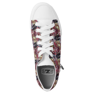 Basset hound print shoes printed shoes