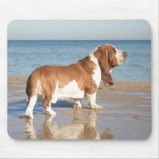 Basset Hound Puppy Dog Computer Mousepad