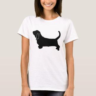 Basset Hound silhouette T-Shirt