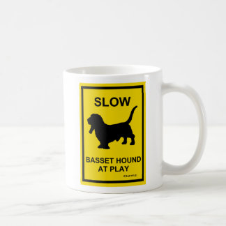 Basset Hound Slow At Play Mug
