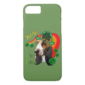 Basset Hound St Patricks Day iPhone 8/7 Case