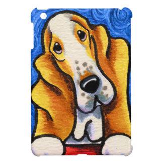 Basset Hound Starry Night iPad Mini Covers
