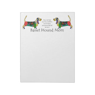 Basset Mom Notepad