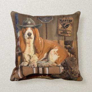 Basset-Sheriff Cushion