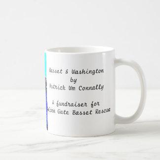 Basset & Washington Coffee Mug