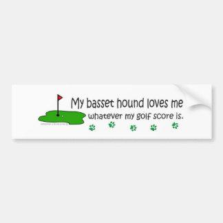 BassetHound Bumper Sticker