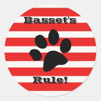 Basset's Rule Sticker