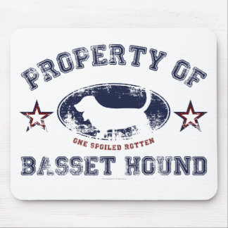 Bassett Hound Mouse Pad