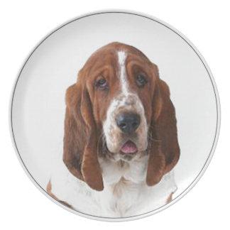 """Bassett Hound"" Plate"