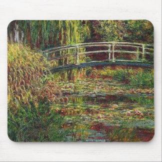 Bassin Aux Nympheas Harmonie Rose Monet Mouse Pad