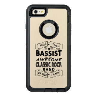 BASSIST awesome classic rock band (blk) OtterBox Defender iPhone Case