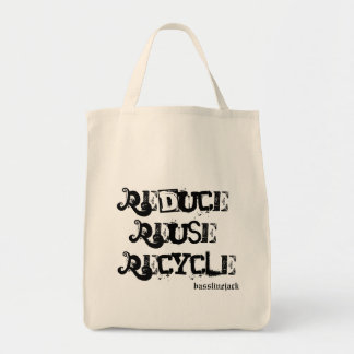 Bassline Organic Grocery Tote Tote Bags