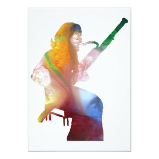 bassoon art card