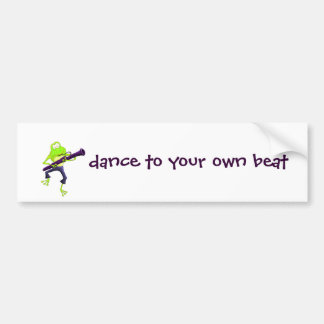 Bassoon Frog Bumper Sticker