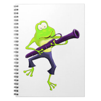 Bassoon Frog Notebook