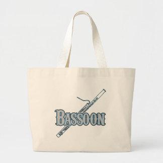Bassoon Jumbo Tote Bag