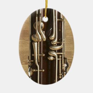 Bassoon Keys Ornament Pendant