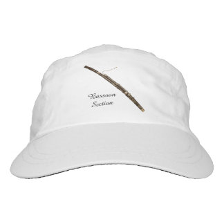 Bassoon Section Customizable Text Hat
