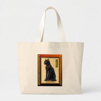 BASTET ~ Cat God Large Tote Bag