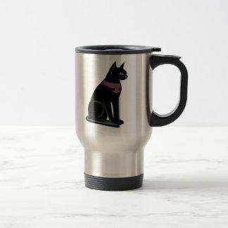 Bastet Cat Travel Mug