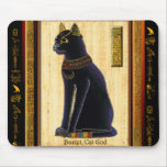 BASTET Egyptian Cat Mouse Pad