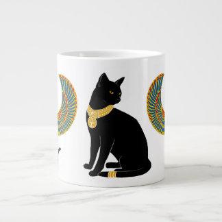 Bastet: Winged Cat of Isis! Large Coffee Mug