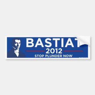 Bastiat 2012 bumper sticker